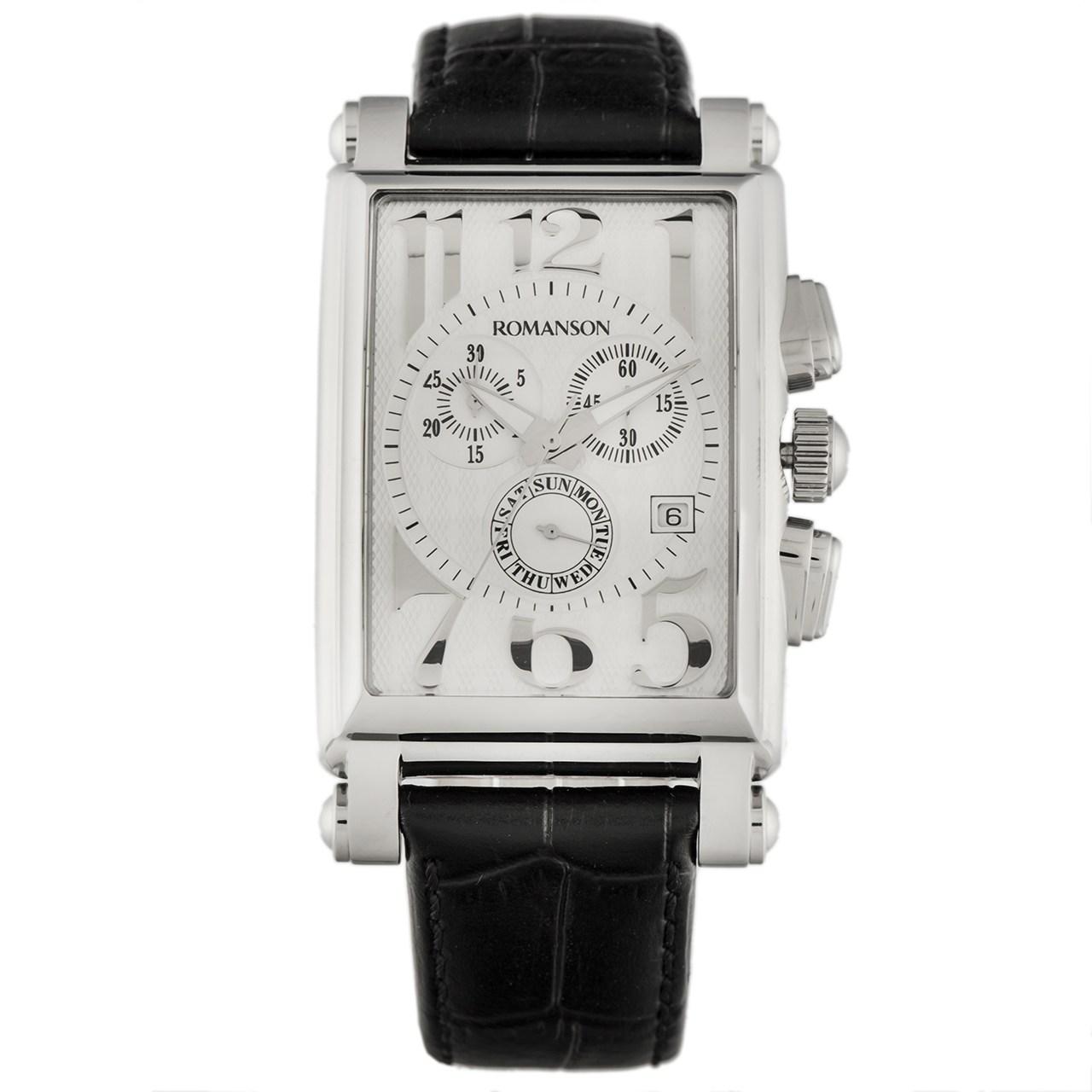 ساعت مچی عقربه ای مردانه رومانسون مدل TL6599HM1WAS2W 23