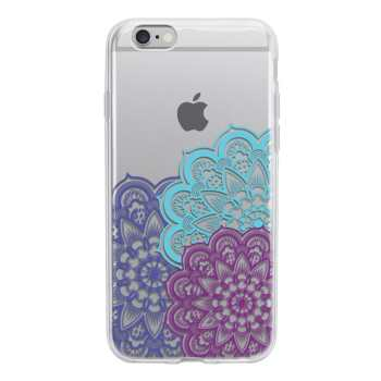 کاور ژله ای وینا مدل Floral مناسب برای گوشی موبایل آیفون 6/6s