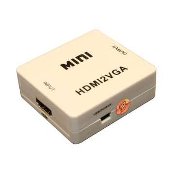 مبدل HDMI به VGA و AUDIO مدل MINI