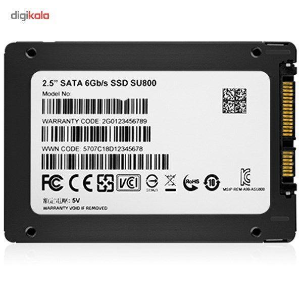 حافظه SSD ای دیتا مدل SU800 ظرفیت 256 گیگابایت main 1 4