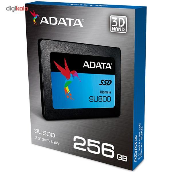 حافظه SSD ای دیتا مدل SU800 ظرفیت 256 گیگابایت main 1 6