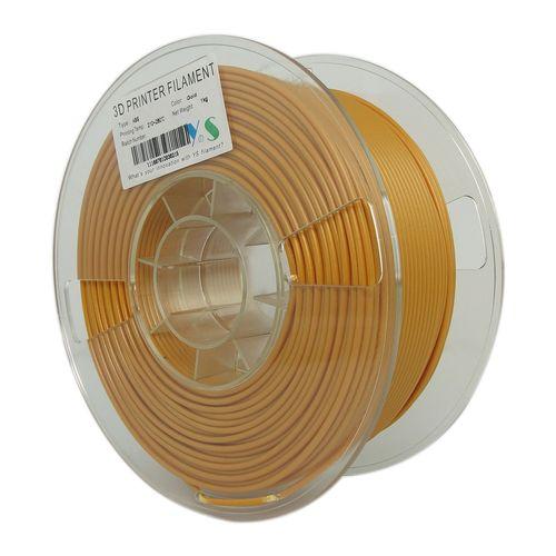 فیلامنت پرینتر سه بعدی ABS  یوسو  طلایی  1.75 میلیمتر 1 کیلو