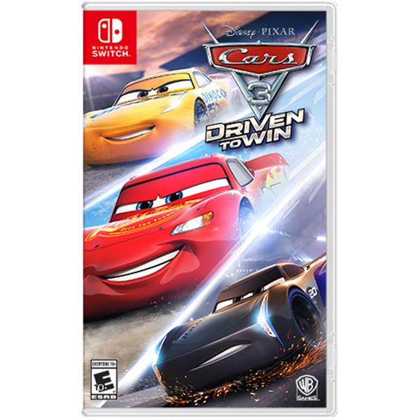 بازی Cars 3 Driven to Win مخصوص Nintendo Switch