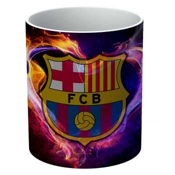 ماگ الینور طرح باشگاه بارسلونا مدل ELM529