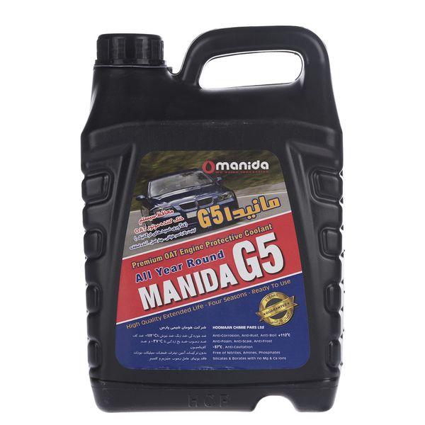 محافظ سیستم خنک کننده موتور مانیدا مدل G5 حجم 4 لیتر