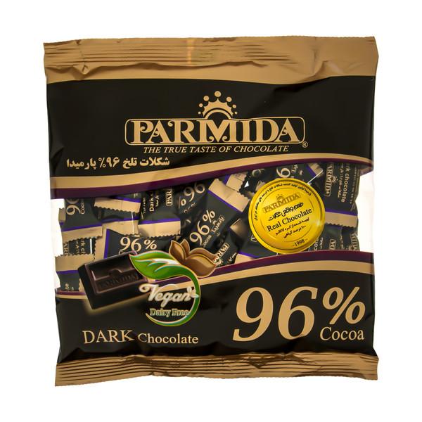 شکلات تلخ 96 درصد پارمیدا مقدار 220 گرم