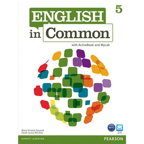 کتاب زبانEnglish In Common 5 Workbook AND Studen Book-CD -اثر مولفان نشر پندارقلم