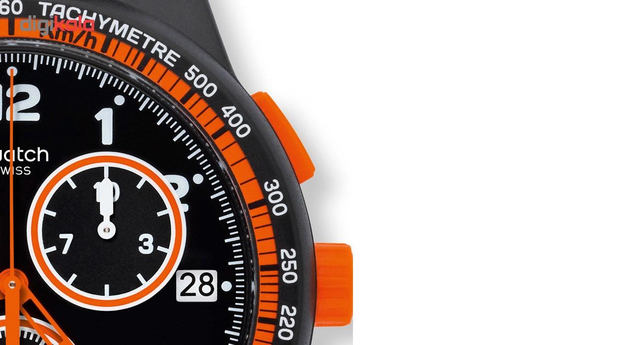 ساعت مچی عقربه ای مردانه سواچ مدل SUSB408 -  - 4