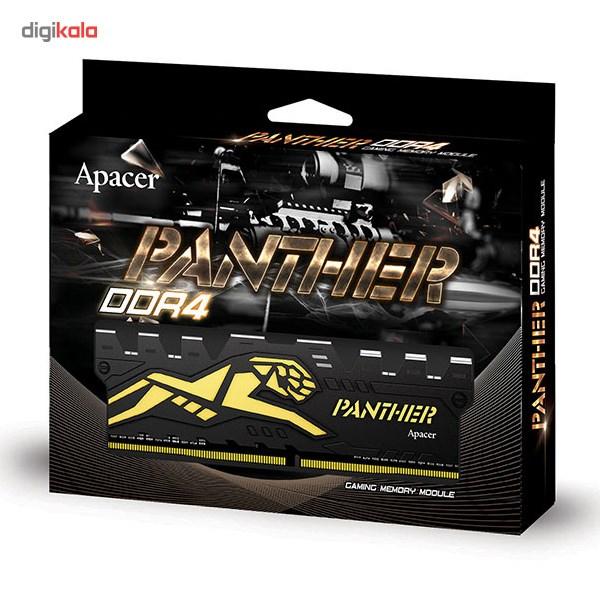 رم دسکتاپ DDR4 تک کاناله 2400 مگاهرتز CL16 اپیسر مدل Panther ظرفیت 4 گیگابایت main 1 2