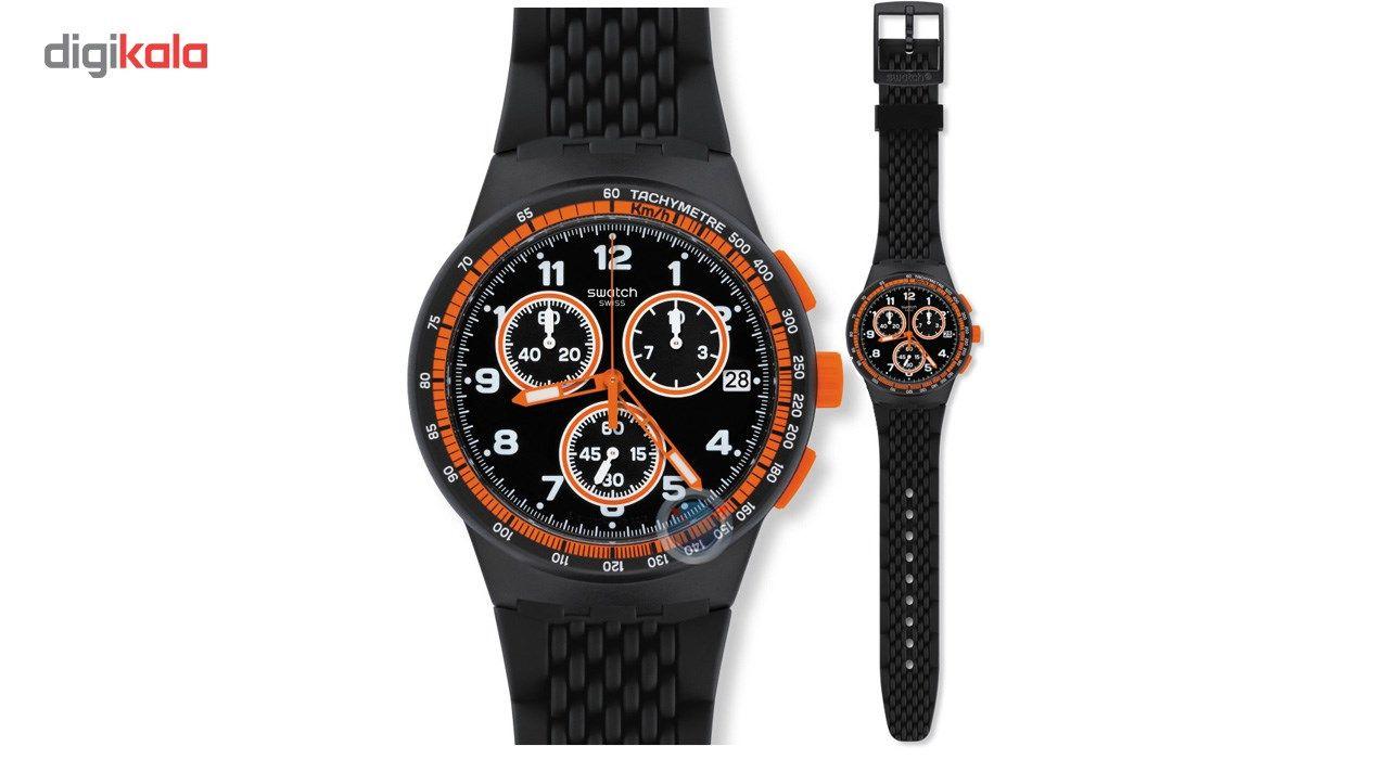 ساعت مچی عقربه ای مردانه سواچ مدل SUSB408 -  - 5