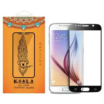 محافظ صفحه نمایش شیشه ای کوالا مدل Full Cover مناسب برای گوشی موبایل سامسونگ Galaxy S7