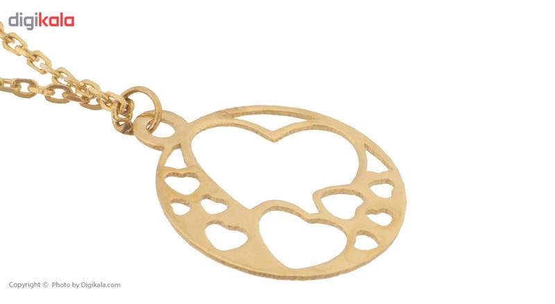 آویز ساعت طلا 18 عیار ماهک مدل MW0308 - مایا ماهک