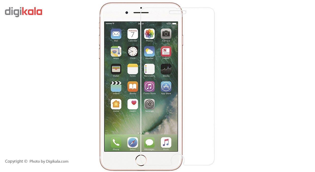 محافظ صفحه نمایش شیشه ای ریمکس مدل Tempered مناسب برای گوشی موبایل اپل iPhone 7 Plus/iPhone 8 Plus main 1 1