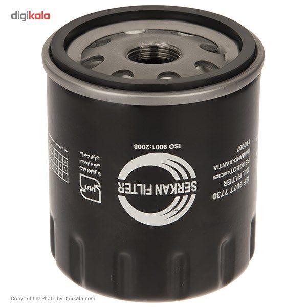 فیلتر روغن خودروی سرکان مدل SF 7730 main 1 2