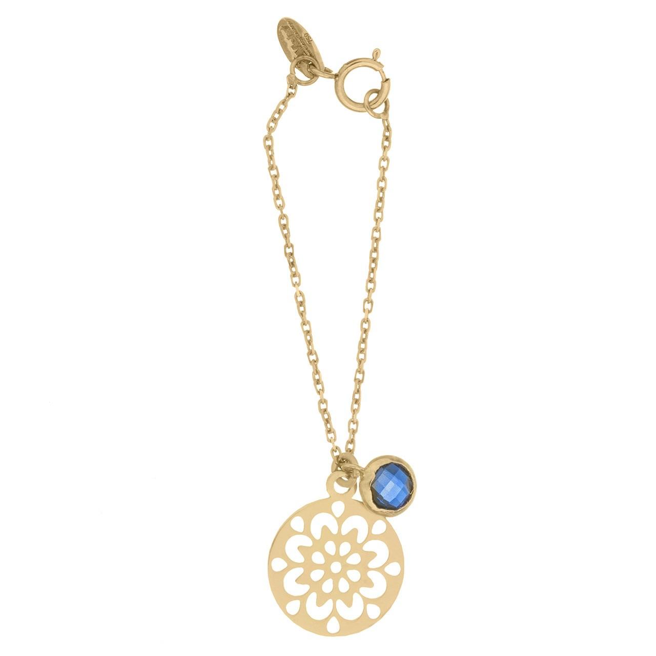 آویز ساعت طلا 18 عیار زنانه مدل MW0270