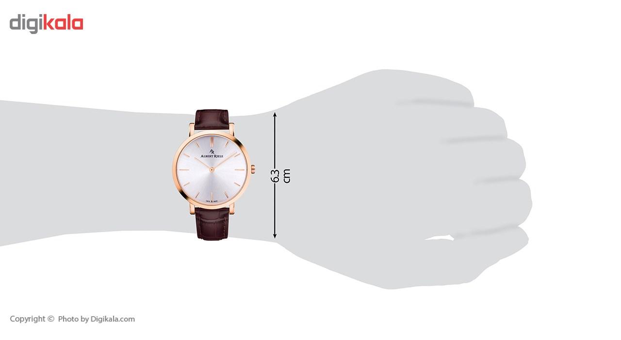 ساعت مچی عقربه ای مردانه آلبرت ریله مدل 018GQ19-SP33I-LN