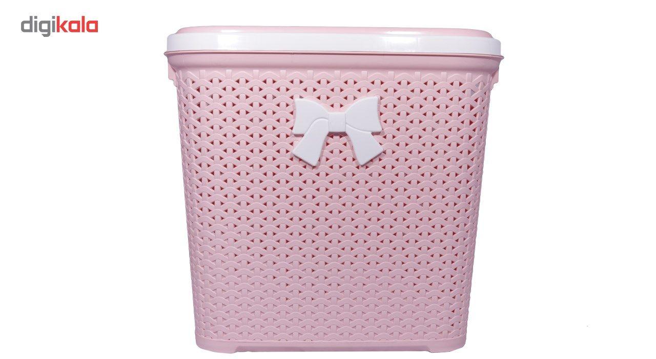 سبد لباس بروفه مدل Pink main 1 1