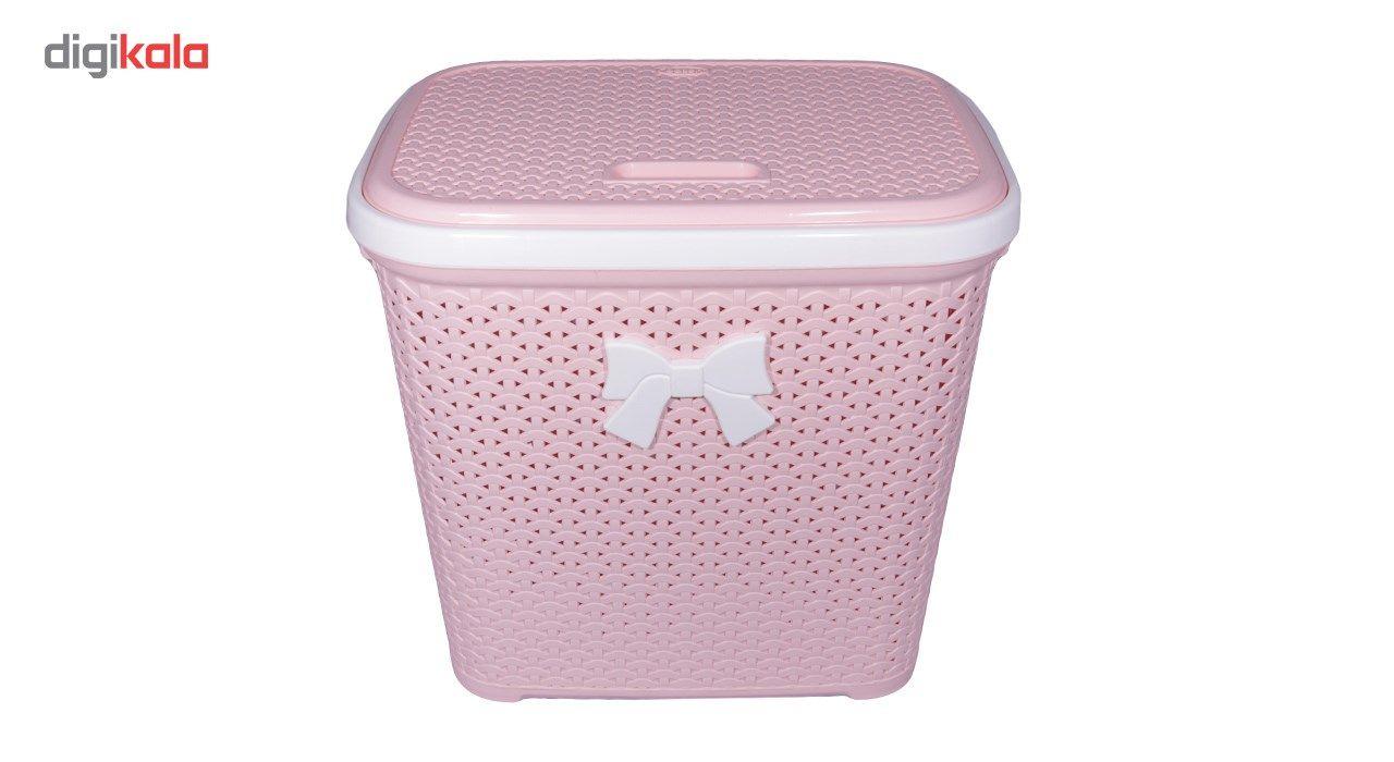سبد لباس بروفه مدل Pink main 1 2