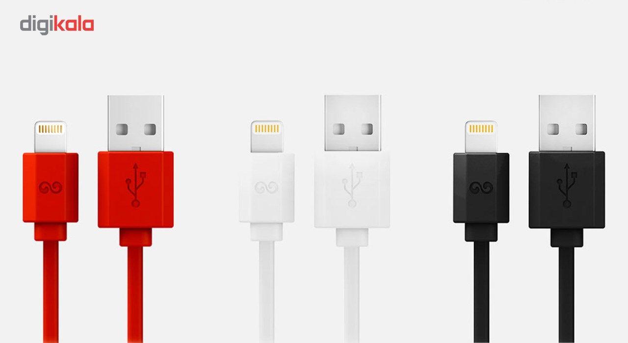 کابل تبدیل USB به لایتنینگ آی واک مدل CST004i طول 2 متر main 1 4