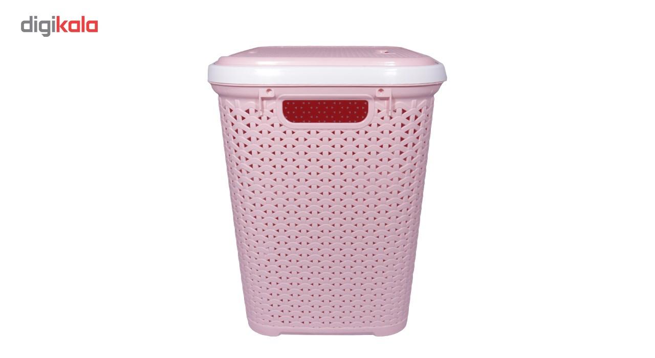 سبد لباس بروفه مدل Pink main 1 4