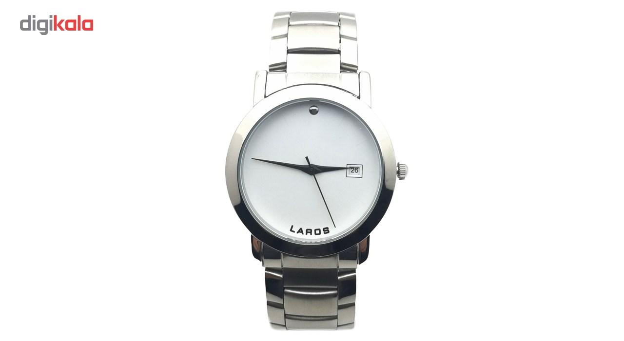 خرید ساعت مچی عقربه ای مردانه لاروس مدل LM-N609-White