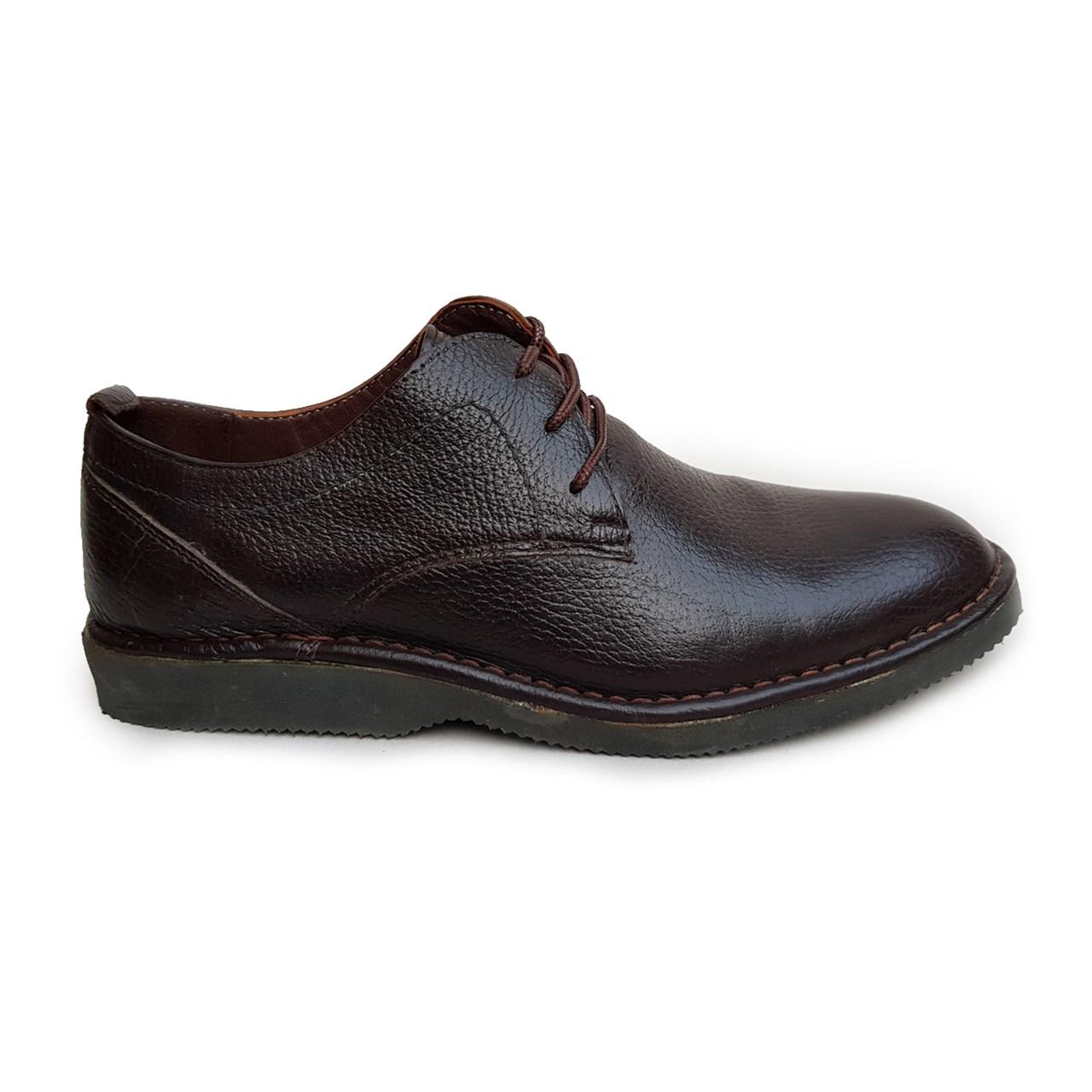 قیمت کفش مردانه چرم طبیعی دیاکو مدلMSL-ARAD-BROWN