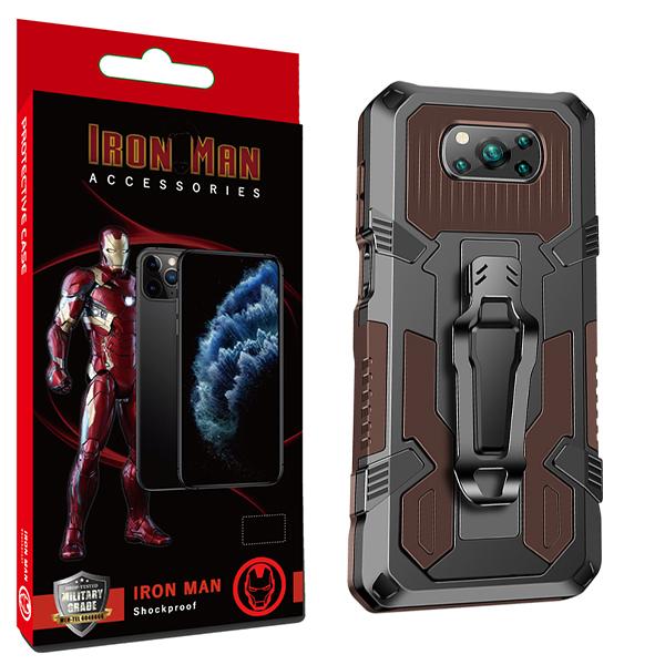 کاور آیرون من مدل Avenger مناسب برای گوشی موبایل شیائومی Redmi POCO X3