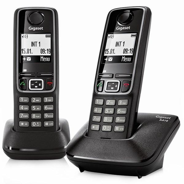 قیمت                      تلفن بی سیم گیگاست دو گوشی A410 Duo