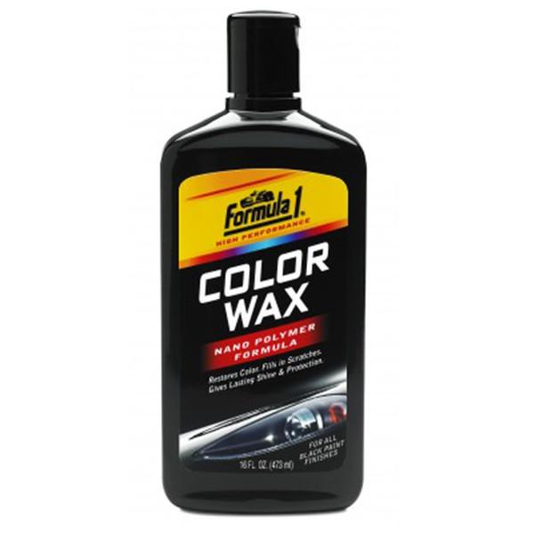 واکس رنگی فرمول وان مدل 688710 مناسب برای خودرو های مشکی - حجم 473 میلی لیتر