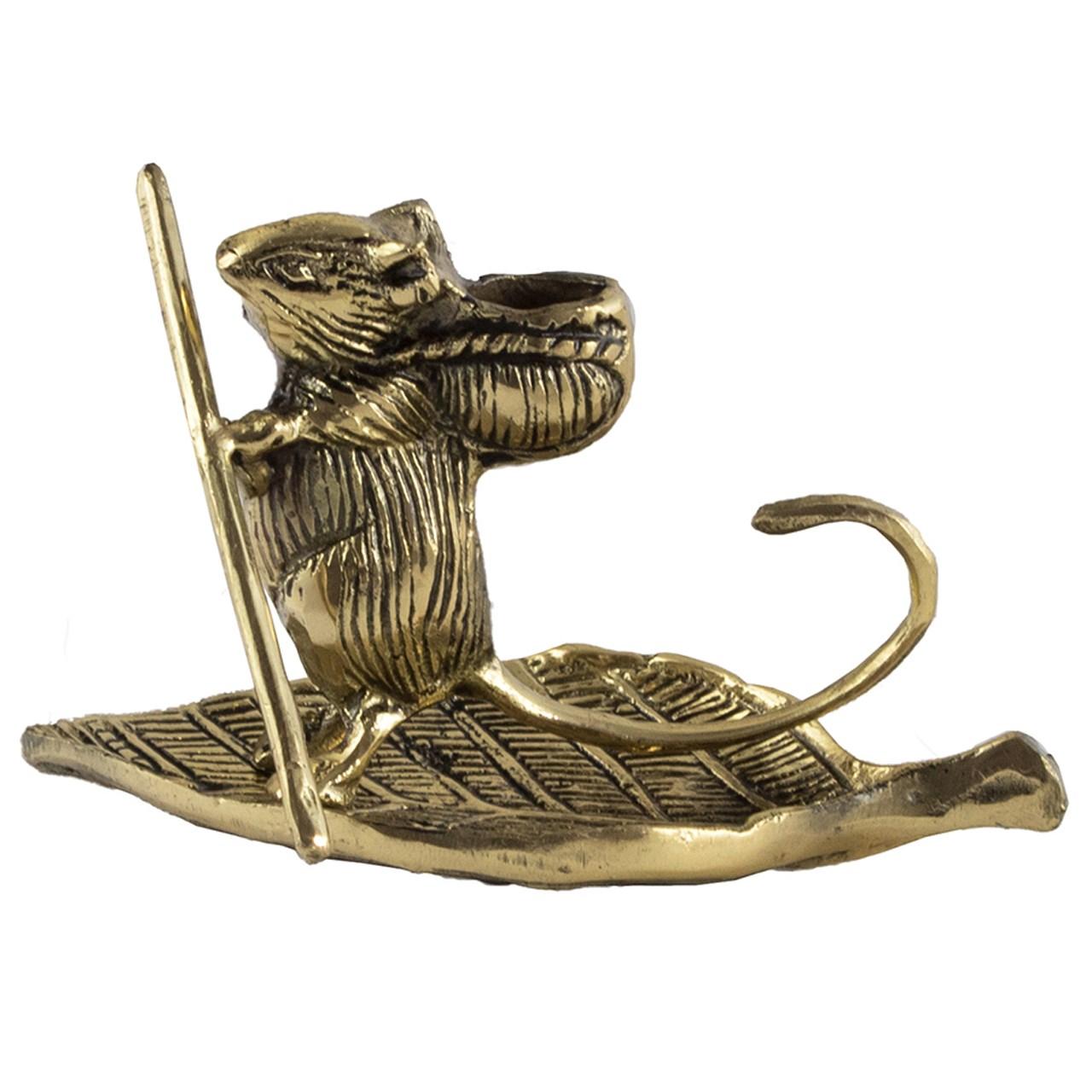 مجسمه برنزی طرح Mouse کد 020030055