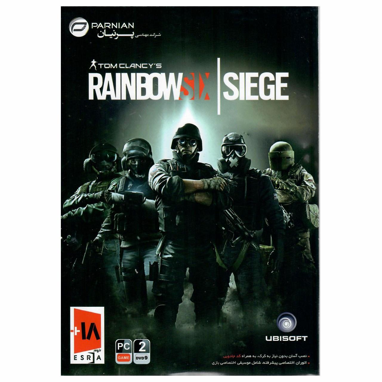بازی کامپیوتری Tom Clancys Rainbow Six Siege مخصوص PC