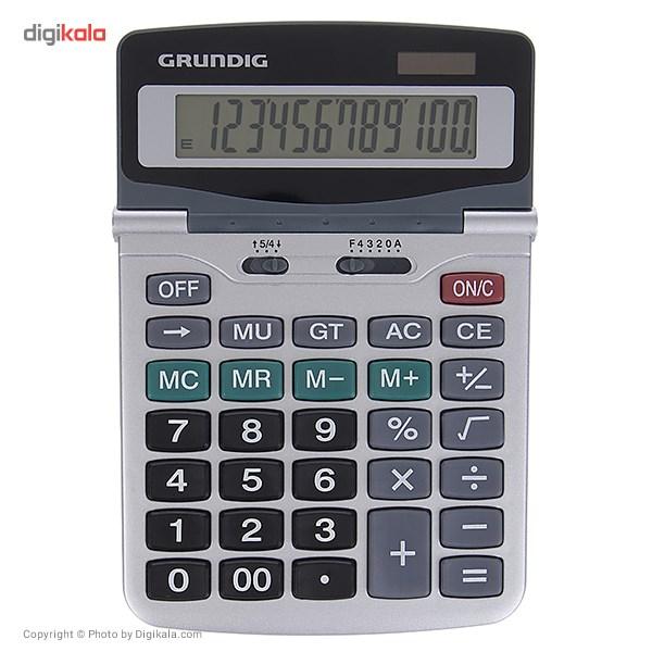 قیمت                      ماشین حساب گروندیگ مدل 12Digit