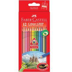 مداد رنگی 12 رنگ فابر-کاستل مدل Colour Grip
