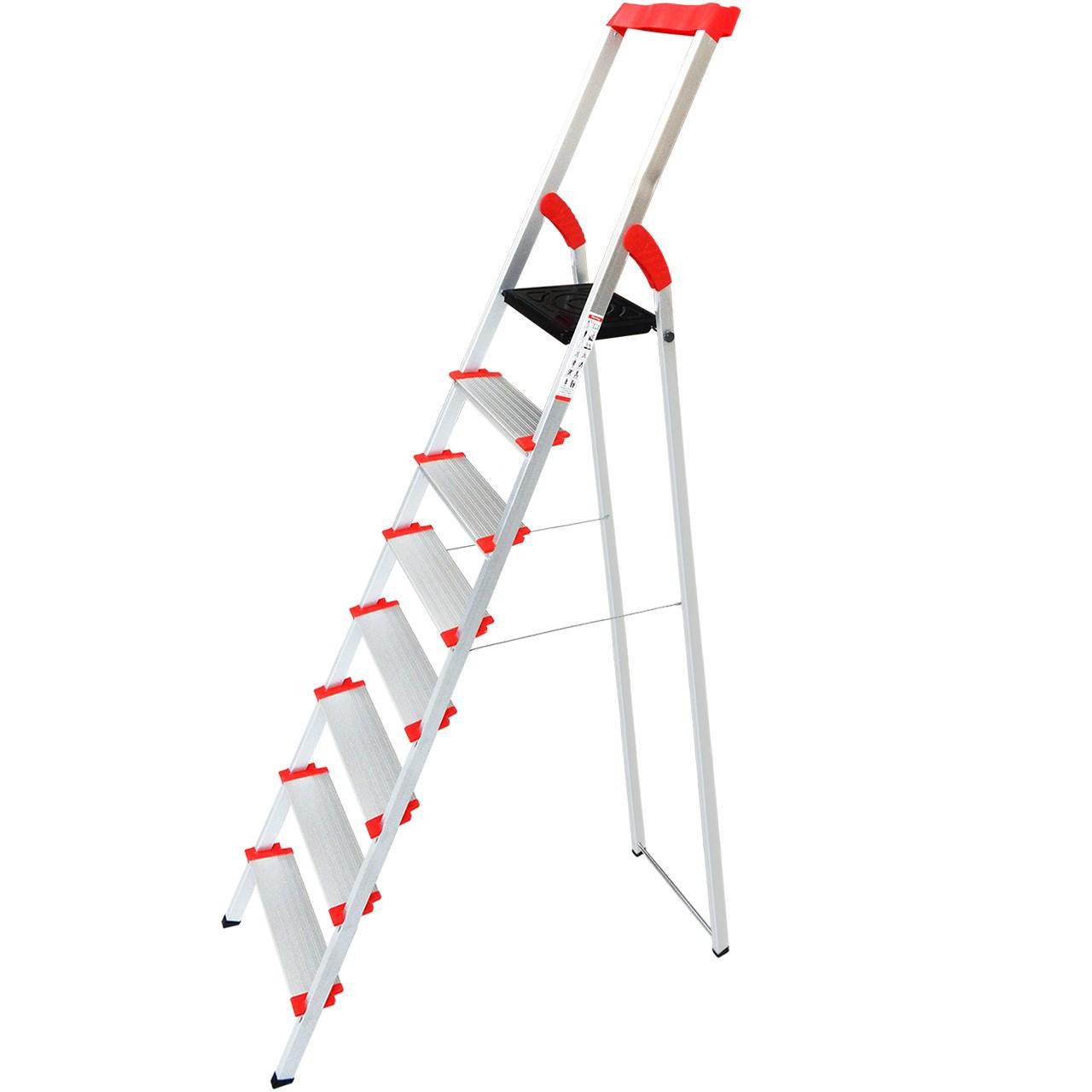 نردبان 8 پله یوکسل مدل Yu8s