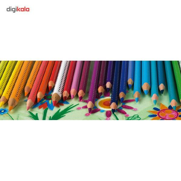 مداد رنگی 12 رنگ فابر-کاستل مدل Colour Grip main 1 4