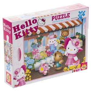 پازل 200 تکه کینگ مدل Hello Kitty K22003