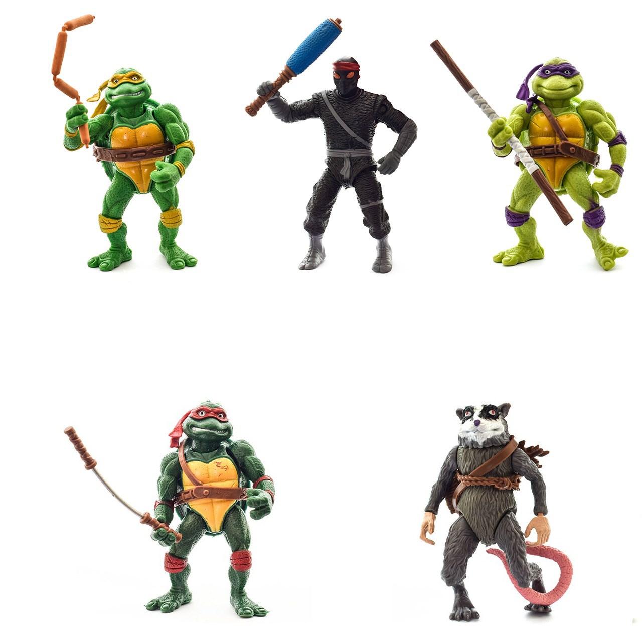 اکشن فیگور آناترا سری Ninja Turtles بسته 5 عددی