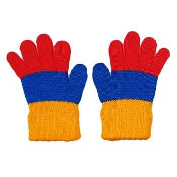 دستکش بافتنی نوزادی مدل K02