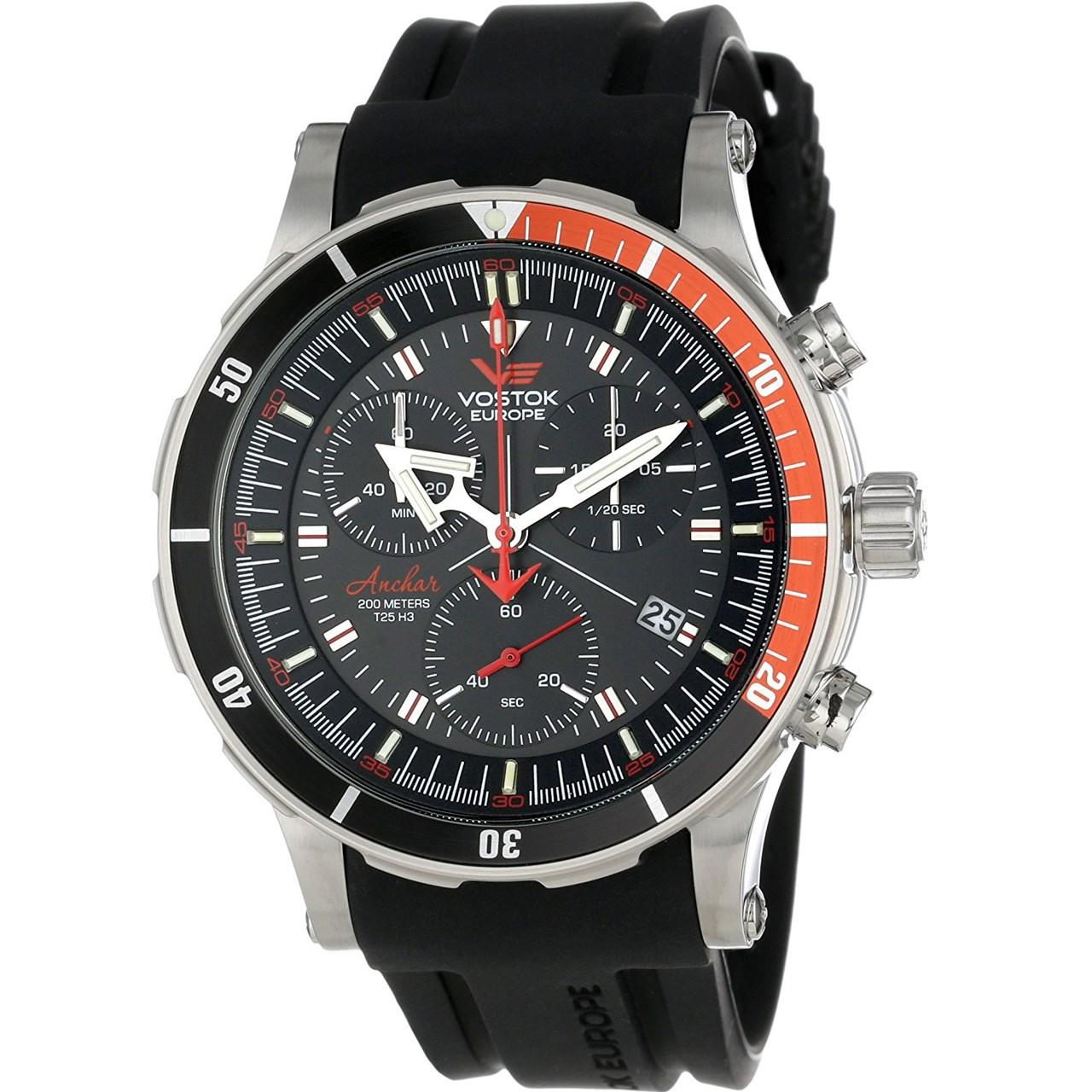 ساعت مچی عقربه ای مردانه وستوک یوروپ مدل 6S30-5105201 تولید محدود 55