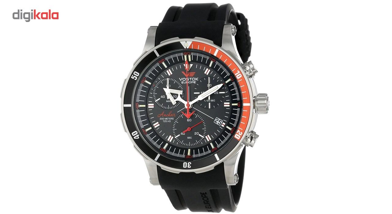 خرید ساعت مچی عقربه ای مردانه وستوک یوروپ مدل 6S30-5105201 تولید محدود