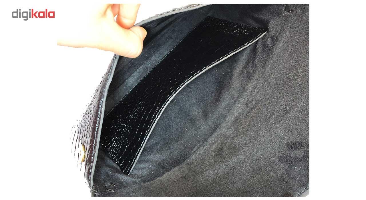 کیف زنانه چرم طبیعی گلیما مدل 278