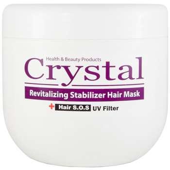 ماسک تغذیه کننده مو کاسهای کریستال مدل Revitalizing Stabilizer حجم 500 میلی لیتر