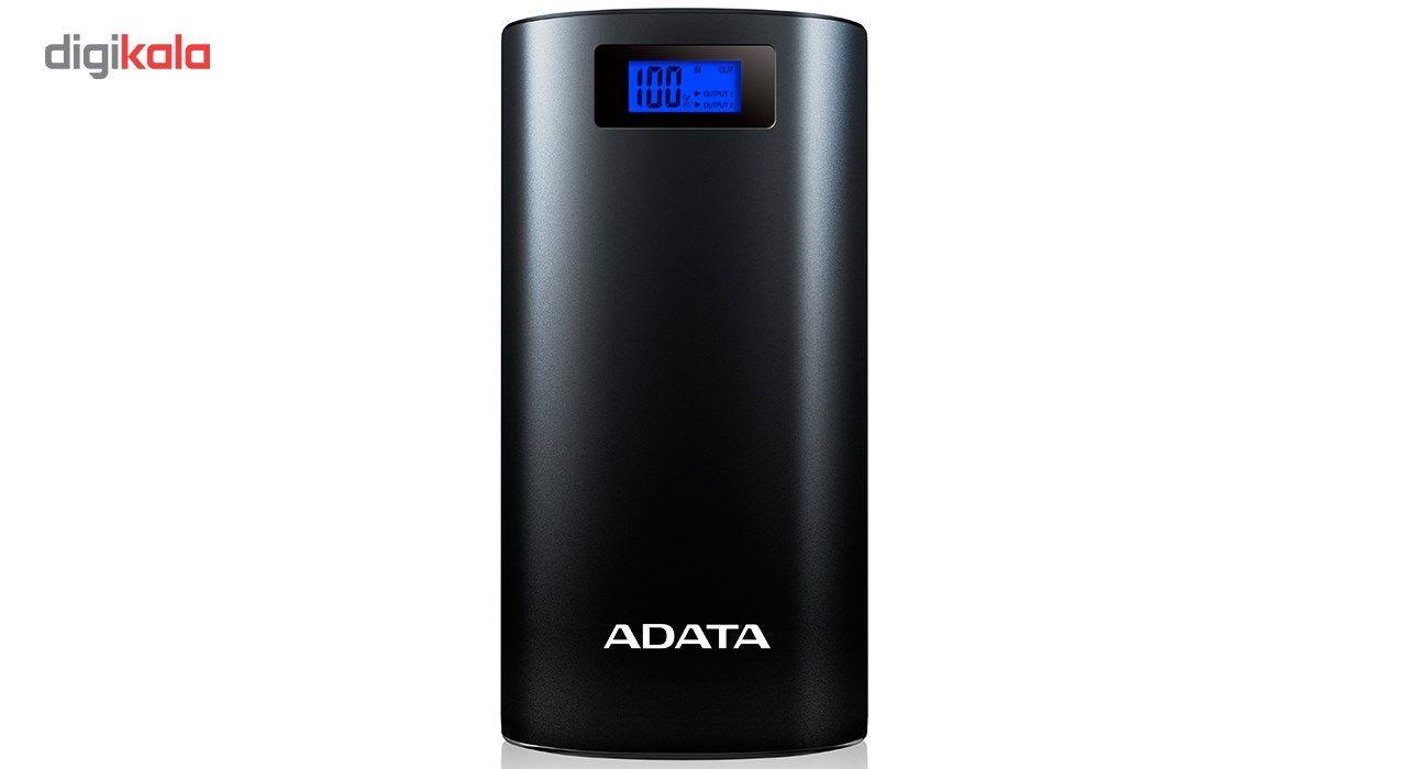 شارژر همراه ای دیتا مدل P20000D ظرفیت 20000 میلی آمپر ساعت main 1 3