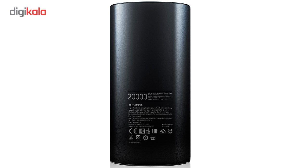 شارژر همراه ای دیتا مدل P20000D ظرفیت 20000 میلی آمپر ساعت main 1 5