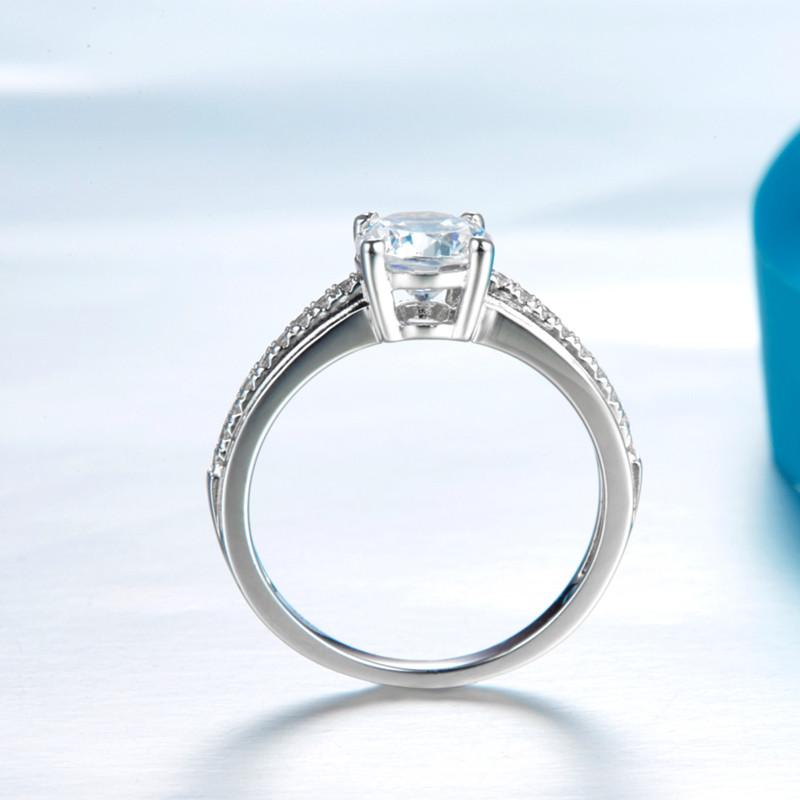 انگشتر نقره زنانه شهر جواهر مدل SJ-R006