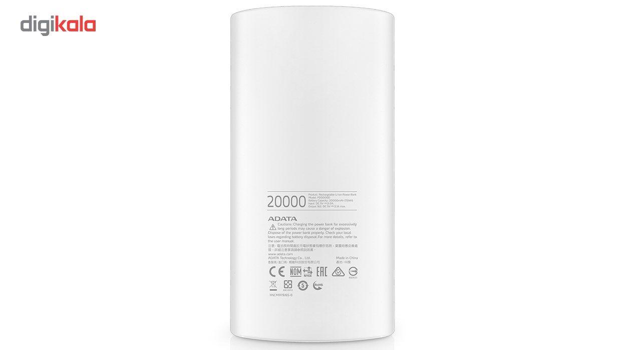 شارژر همراه ای دیتا مدل P20000D ظرفیت 20000 میلی آمپر ساعت main 1 9
