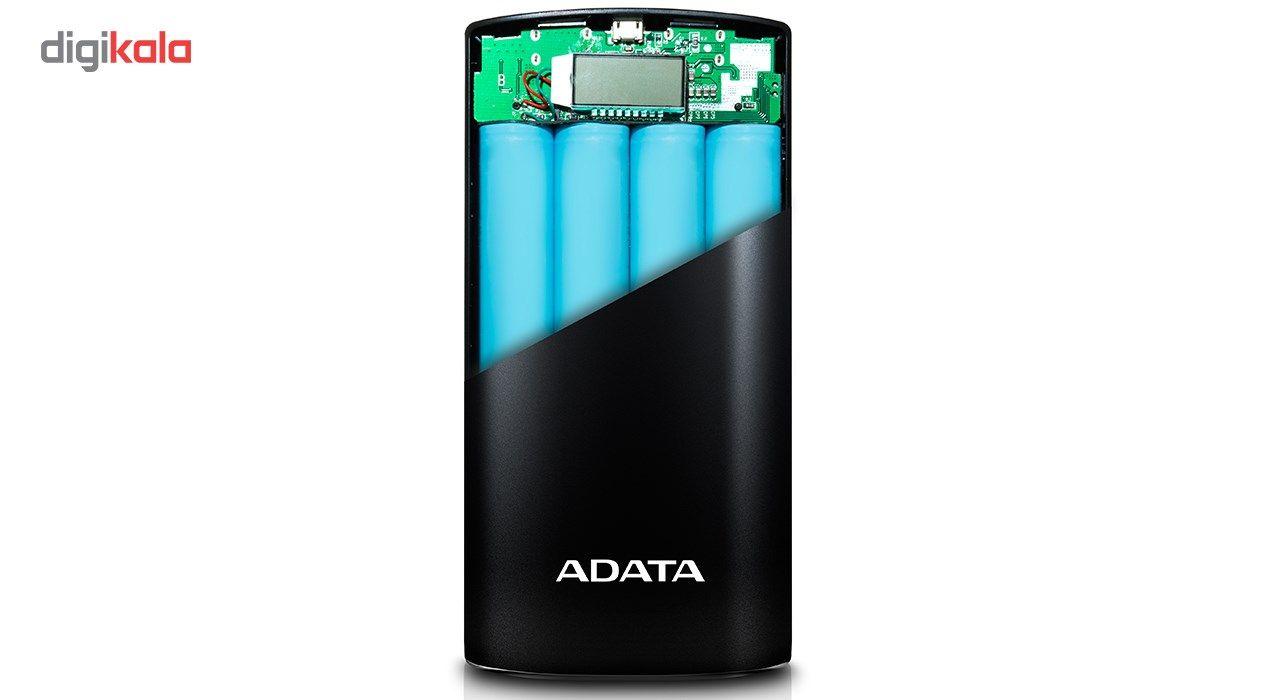 شارژر همراه ای دیتا مدل P20000D ظرفیت 20000 میلی آمپر ساعت main 1 11
