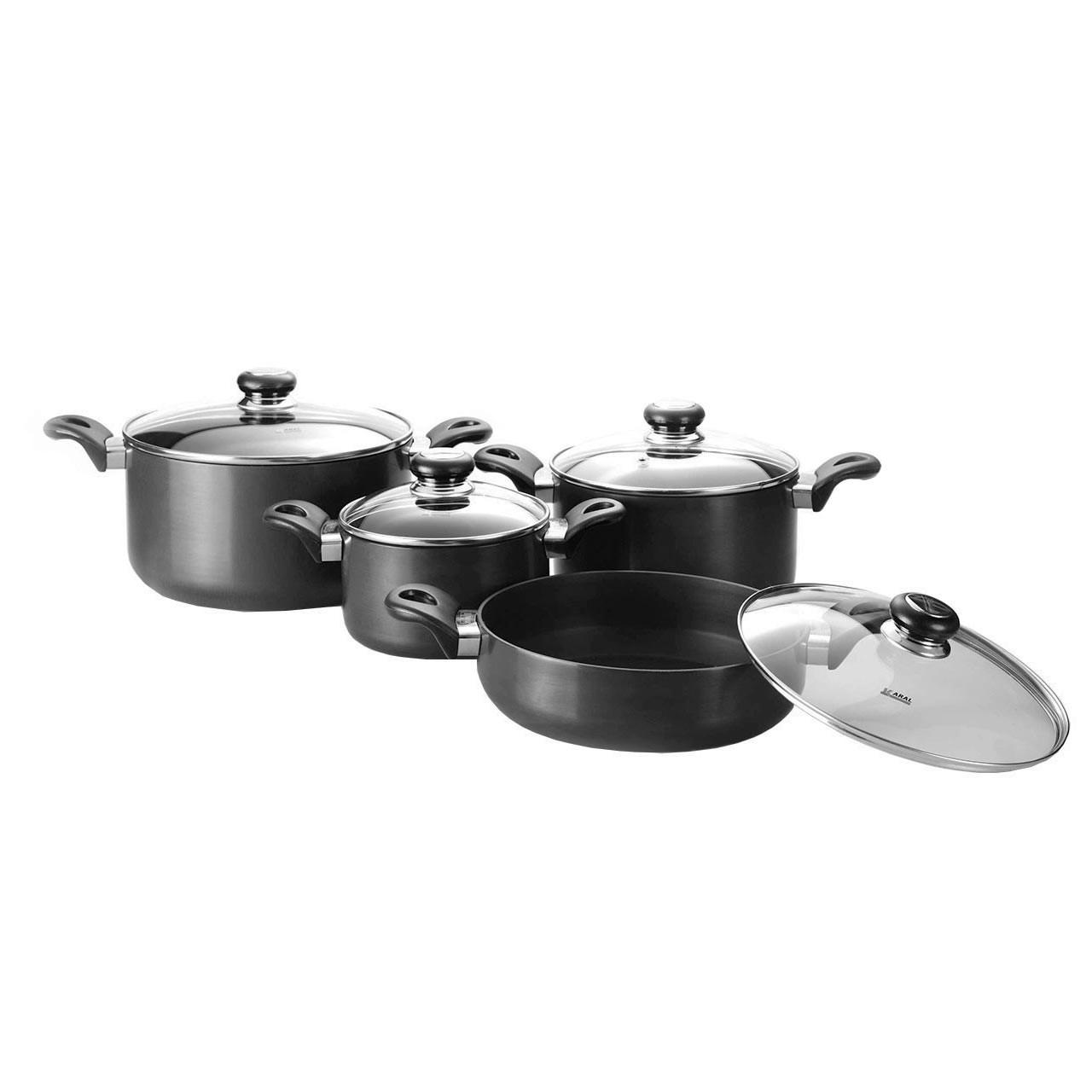 سرویس پخت و پز 8 پارچه هاردآنادایزد کارال مدل آترینا