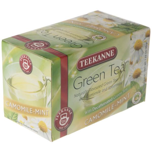 چای سبز کیسه ای تی کانه مدل Camomile Mint بسته 20 عددی