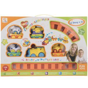قطار اسباب بازی شنگ چوان مدل Animals